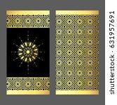 elegant luxury  template design ... | Shutterstock .eps vector #631957691