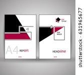 elegant modern business... | Shutterstock .eps vector #631965677