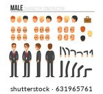 male character constructor for... | Shutterstock . vector #631965761