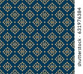 seamless pattern thai art ... | Shutterstock .eps vector #631976384