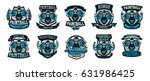 a collection of logos  emblems  ...   Shutterstock .eps vector #631986425
