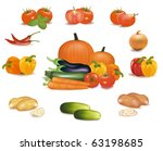 the big colorful group of... | Shutterstock .eps vector #63198685