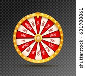wheel of fortune lottery luck... | Shutterstock .eps vector #631988861