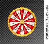 wheel of fortune lottery luck...   Shutterstock .eps vector #631988861