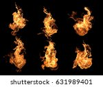Flame heat fire abstract background black background
