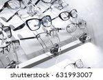 vitrine spectacles lenses    Shutterstock . vector #631993007