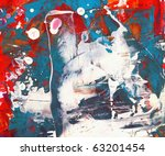 abstract watercolor   nice... | Shutterstock . vector #63201454