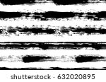painted striped pattern.... | Shutterstock .eps vector #632020895
