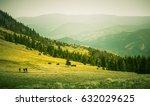 a beautiful mountain pass...   Shutterstock . vector #632029625