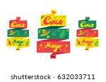 cinco de mayo festival banner...   Shutterstock .eps vector #632033711