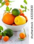 Still Life With Oranges  Lemon...