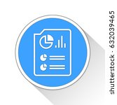 report page button icon... | Shutterstock . vector #632039465
