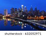 a night scene of the city of... | Shutterstock . vector #632052971