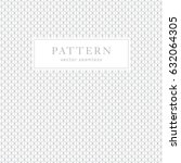 simple geometric seamless... | Shutterstock .eps vector #632064305