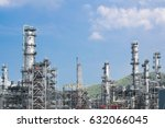 industrial view at oil... | Shutterstock . vector #632066045