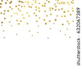 gold glitter background polka... | Shutterstock .eps vector #632067389