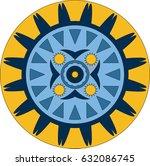 mandala. decorative elements....   Shutterstock .eps vector #632086745