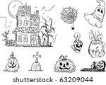 vector illustration   set of...   Shutterstock .eps vector #63209044
