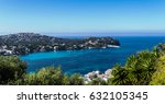 panorama santa ponsa  majorca ... | Shutterstock . vector #632105345