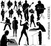 musician vector 3  instrument... | Shutterstock .eps vector #6321061