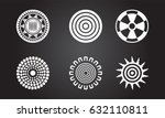 american indian symbols | Shutterstock .eps vector #632110811