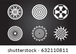 american indian symbols | Shutterstock .eps vector #632110811