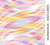colorful smooth light lines...   Shutterstock .eps vector #632113001