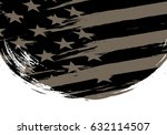 flag of the united states ... | Shutterstock .eps vector #632114507