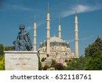 edirne   august 28  selimiye... | Shutterstock . vector #632118761