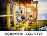 pressure control valve in oil... | Shutterstock . vector #632147615