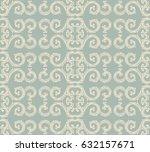 antique seamless background...   Shutterstock .eps vector #632157671