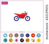sport motorcycle | Shutterstock .eps vector #632159051