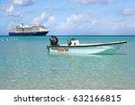 little san salvador island ... | Shutterstock . vector #632166815