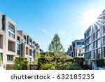 modern residential architecture ... | Shutterstock . vector #632185235