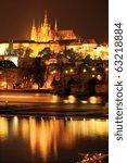 Colorful Prague Gothic Castle...