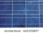 closeup of solar panel and... | Shutterstock . vector #632193857