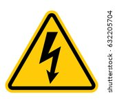 Hazardous Voltage Pictogram