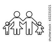 family figure icon   Shutterstock .eps vector #632231021