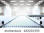 empty conveyor belt 3d rendering | Shutterstock . vector #632231555
