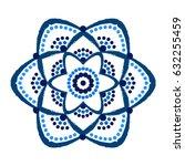 painted flower logo vector....   Shutterstock .eps vector #632255459