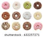 Delicious Donuts Isolated On...