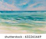 Tropical Beach Background...