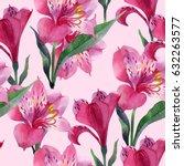 seamless floral pattern... | Shutterstock . vector #632263577