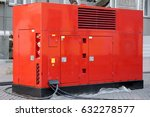 mobile electric power generator ... | Shutterstock . vector #632278577