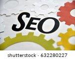 seo design concept for web...