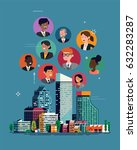 cool vector concept... | Shutterstock .eps vector #632283287