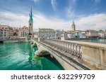 panorama view of historic city... | Shutterstock . vector #632299709