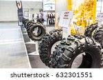 Small photo of Poznan, Poland, April 06-09, 2017: MOTOR SHOW, International Car Fair: CST Abuzz tires