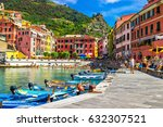 View Of Vernazza Village ...