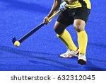 field hockey players control... | Shutterstock . vector #632312045